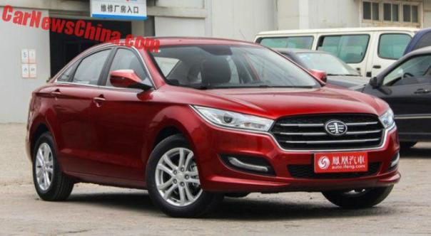 New Besturn B50 Launched On The Chinese Car Market