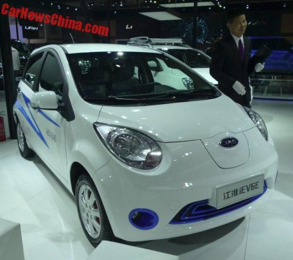 JAC iEV6E EV Will Hit The Chinese Car Market In September