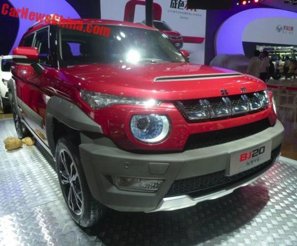 Beijing Auto BJ20 Hits The Chengdu Auto Show In China