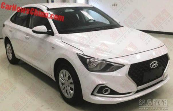 Spy Shots: The New Hyundai Celesta Sedan For China