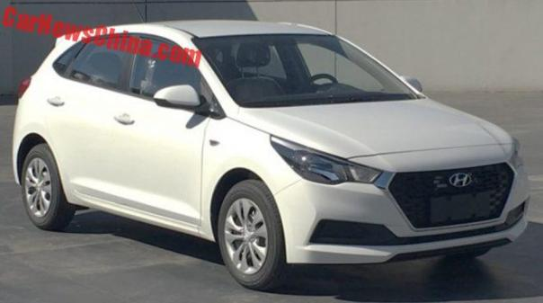 This Is The New Hyundai Verna Hatchback For The Chinese Auto Market