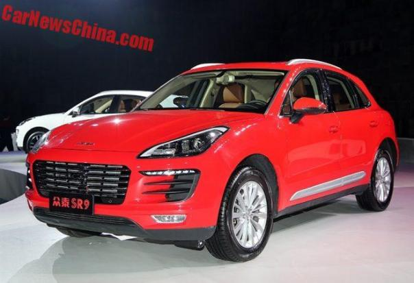Zotye SR9 Porsche Macan Ripoff Launched In China