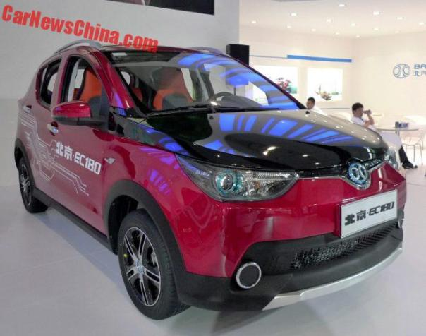 Beijing Auto EC180 EV Launched On The Guangzhou Auto Show