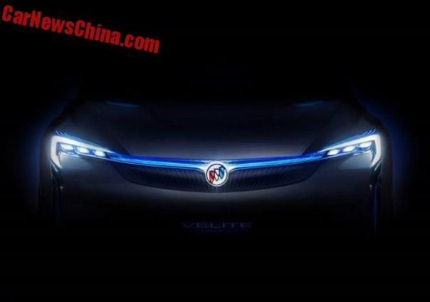 Buick Teases The Velite Concept For The Guangzhou Auto Show In ChinaIn Guangzou