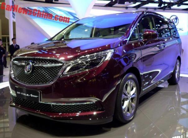Buick Launches Avenir Luxury Line For China