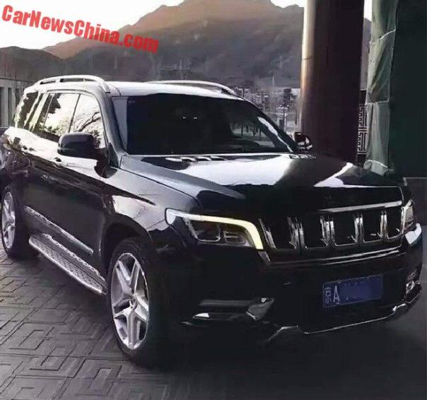 Beijing Auto BJ90 SUV Is More Than Ready For The Chinese Car Market