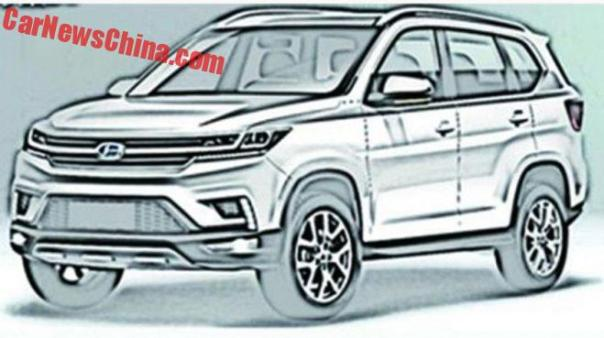 Two New SUVs For Changhe Auto In China