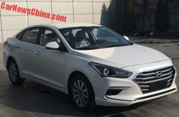 Facelift For The Hyundai Mistra In China