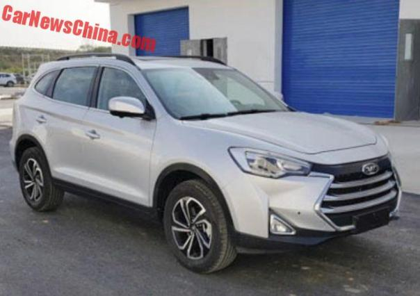 JAC Refine S7 SUV Is Almost Ready For China