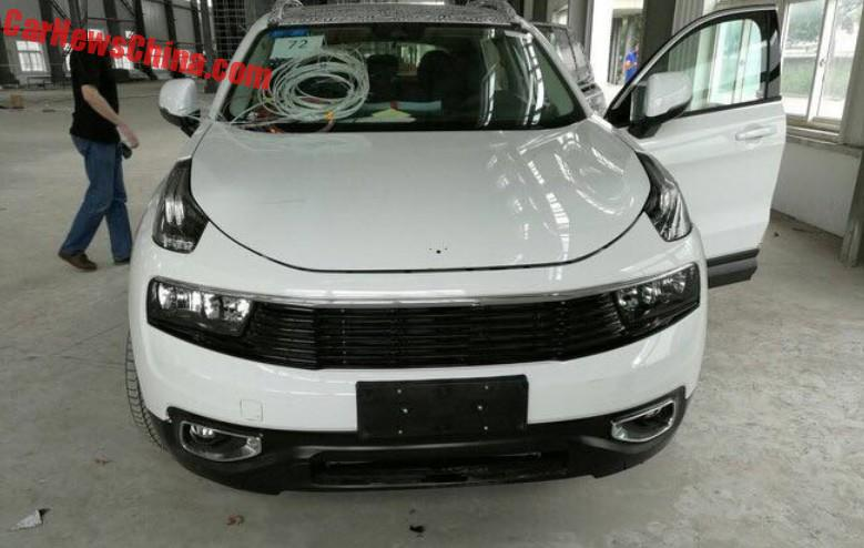 Lynk Co Suv Is Getting Naked In China Carnewschina Com