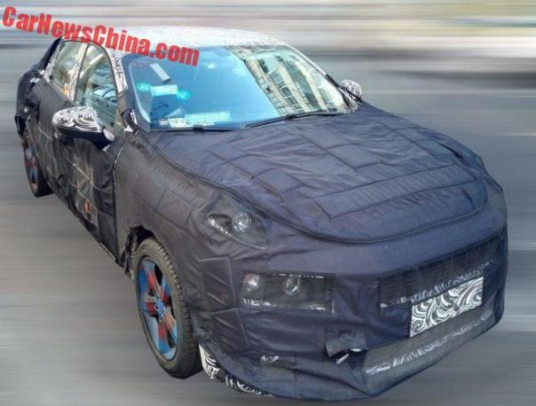 Spy Shots: Lynk & Co CS11 Sedan Testing In China