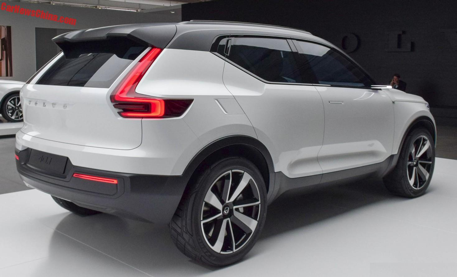 Volvo Compact Suv To Debut On The Shanghai Auto Show In April