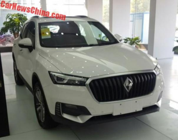 New Photos Of The Borgward BX5 SUV For China