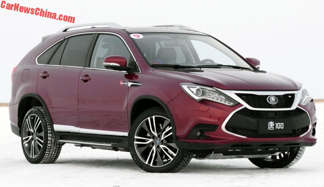 Byd Launches The Tang Hybrid Super Suv In China Carnewschina