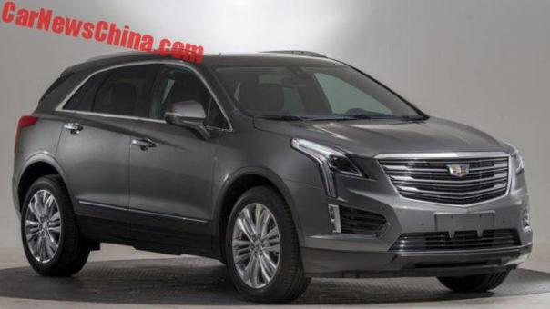 The New Cadillac XT5 PHEV Is Only For China