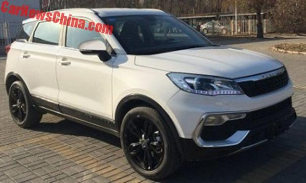 Changfeng Liebao CS9 SUV Is Ready For China