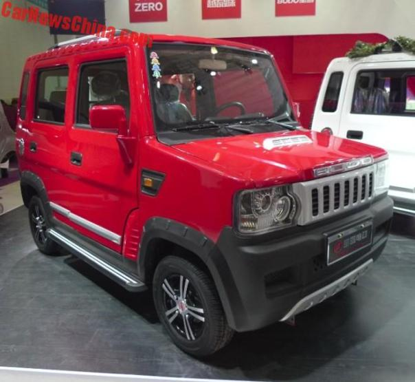 The Bodo BD10 LSEV From China Is An Electric Hummer H2 But A Bit Smaller
