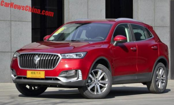 Borgward BX5 SUV Launched On The Chinese Auto Market