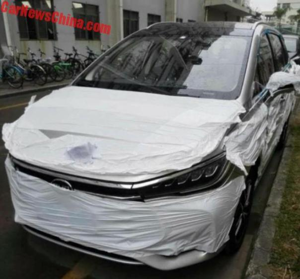 BYD M5 MPV Is Getting Ready For The Chinese Car Market