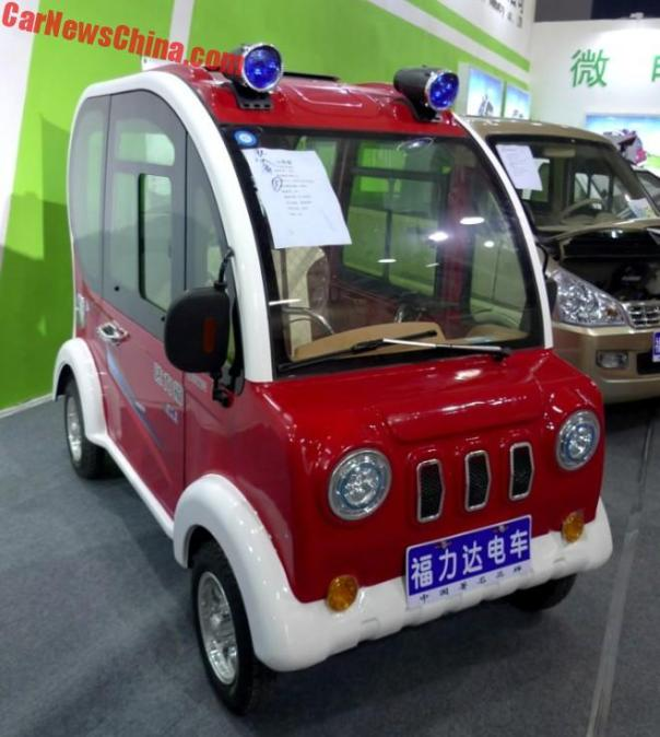 The Fulidai Red Panda LSEV From China Is What A Small Jeep Should Be