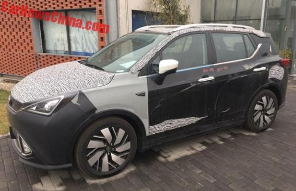 Spy Shots: The Guangzhou Auto Trumpchi GE3 EV Is Almost Ready For China