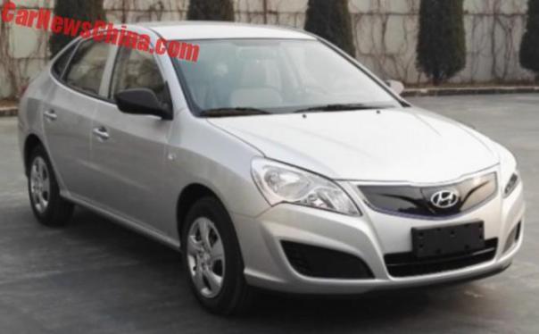 Hyundai Elantra Yuedong Is Going Electric In China