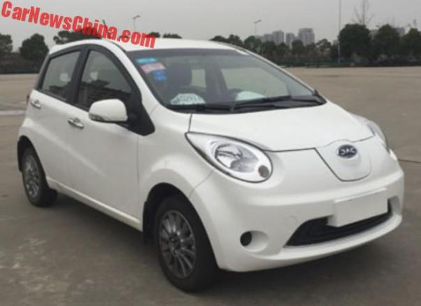 JAC iEV6E Electric Hatchback Is Finally Ready For China