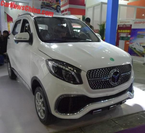 The Luxing iStar LSEV Is Not A Mercedes-Benz