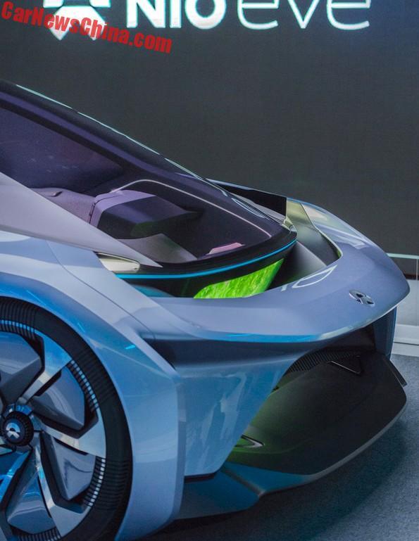 nio launches the eve autonomous electric concept car china auto news. Black Bedroom Furniture Sets. Home Design Ideas