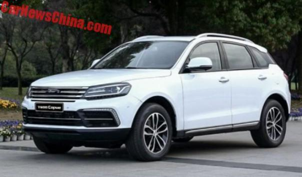 This Is The Zotye T600 Coupe For China