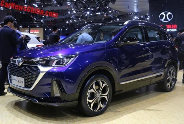 2017 - [Chine] Salon Auto de Shanghai  - Page 2 Beijing-senova-x55-1