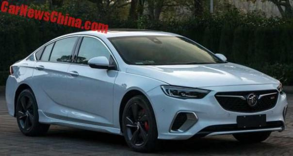 This Is The China-Spec Buick Regal GS