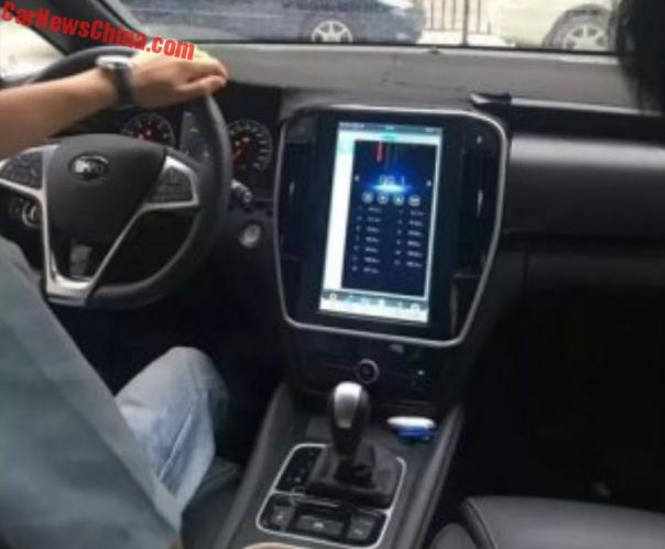 Spy Shots: New BYD M5 MPV Will Get A Tesla-like Touch Screen