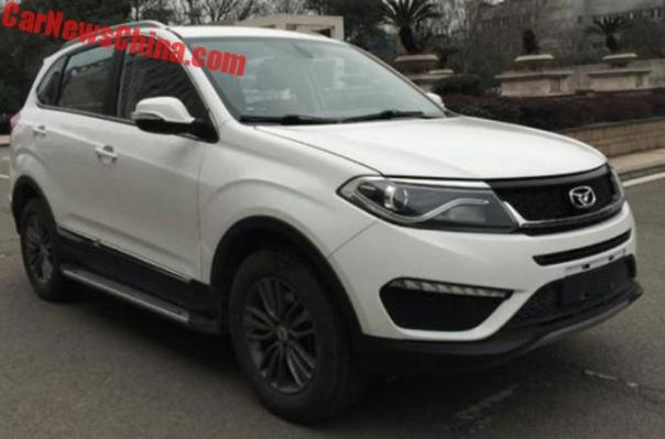 The Cowin X5 Is The Old Chery Tiggo 5