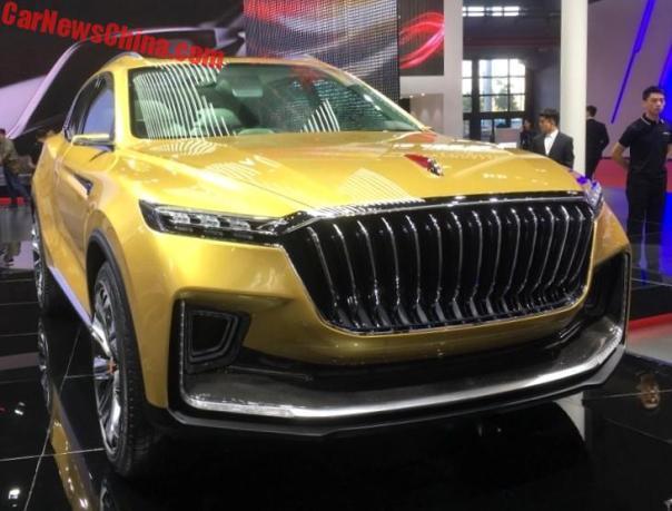 2017 - [Chine] Salon Auto de Shanghai  - Page 2 Hongqi-suv-concept-1