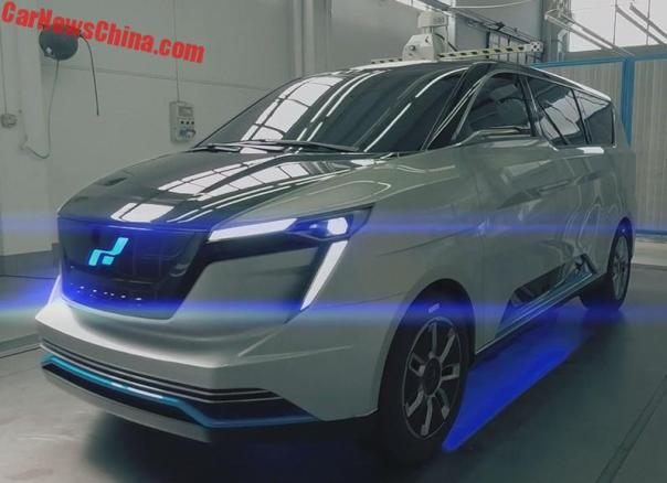 W Motors To Launch Luxury Electric MPV In China