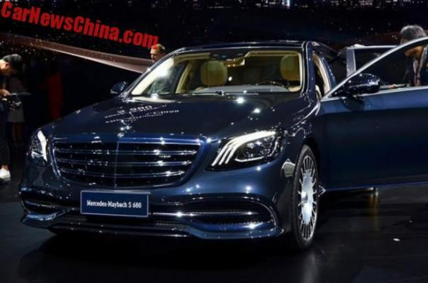 Mercedes-Maybach S680 And S560 Launched On The Shanghai Auto Show In China