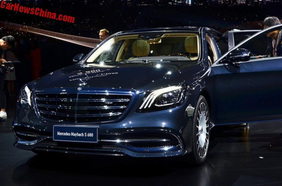2018 maybach 560. Wonderful 560 MercedesMaybach S680 And S560 Launched On The Shanghai Auto Show In China 2018 Maybach 560 S