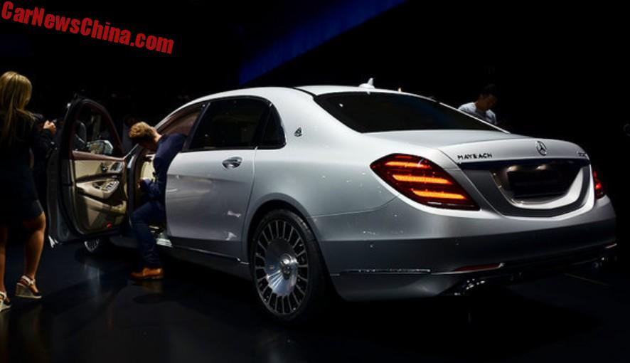 2018 maybach 560. Perfect 560 The MercedesMaybach S560 Is The Successor Of S500 It  Gets An All New 40 Twinturbo V8 With 470hp And 700nm Inside 2018 Maybach 560