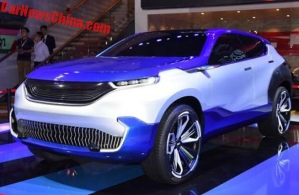 Brilliance Shineray SWM Eroe Electric SUV