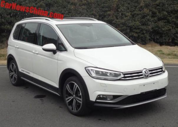 The Volkswagen Cross Touran L Is A Crossy MPV For China