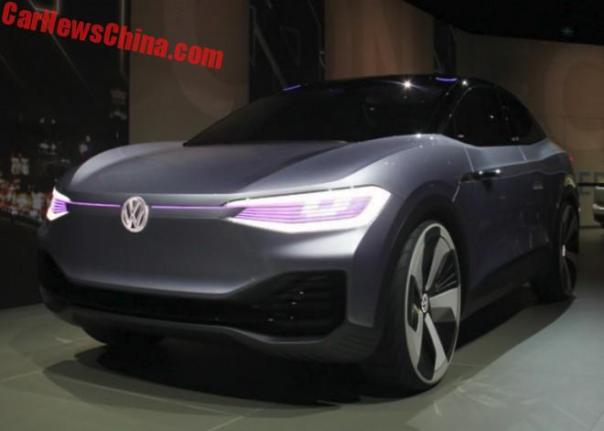 Volkswagen I.D. Crozz Unveiled On The Shanghai Auto Show In China