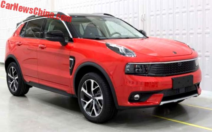 Here Is The Lynk Co Suv In All Trims And Sorts Carnewschina