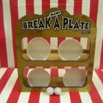 Mini Break a Plate Carnival Game