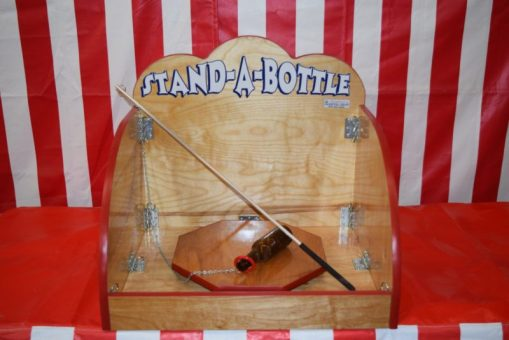 Stand a Bottle Carnival Game