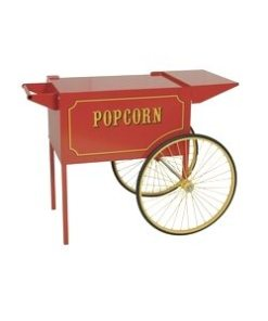 Large Popcorn Cart