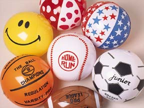 Inflatable Ball Assortment Carnival Prize