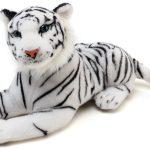"40"" White Tiger Carnival Prize Jumbo Plush"