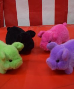 Plush Animated Pigs Carnival Supplies