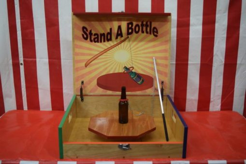 Stand A Bottle Case Game